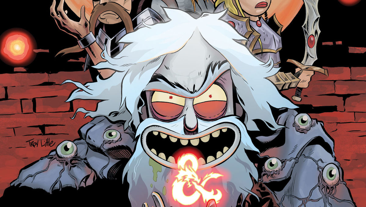 Exclusive covers: Experience the pain of the Rick and Morty vs Dungeons & Dragons sequel