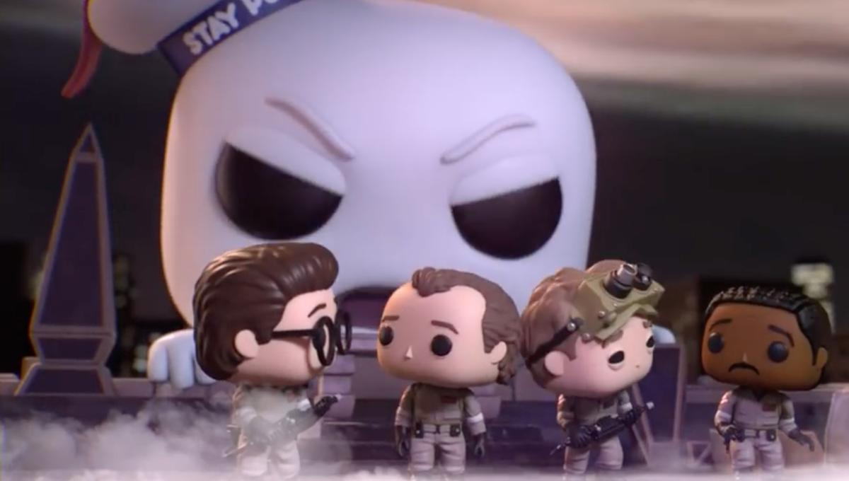 Funko literally toasts Ghostbusters' 35th anniversary by Pop-ifying that Stay Puft scene