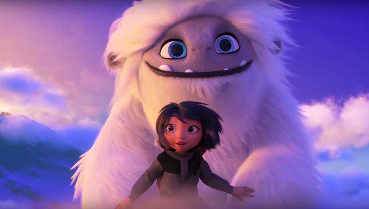 Box office: DreamWorks' Abominable snowboards its way to No. 1 spot with $20.85M