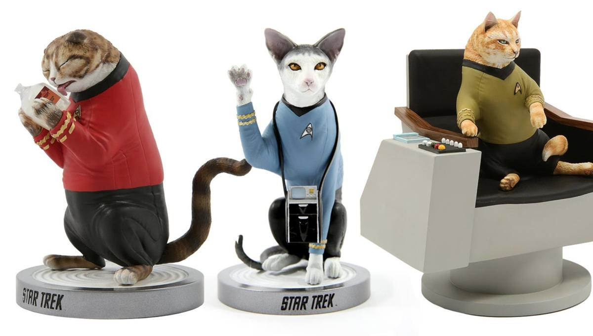 Felines join Starfleet in Chronicle Collectibles' cool new line of Star Trek Cats