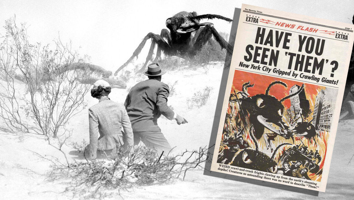 How Them! and the atomic insect movies of the '50s changed Hollywood forever