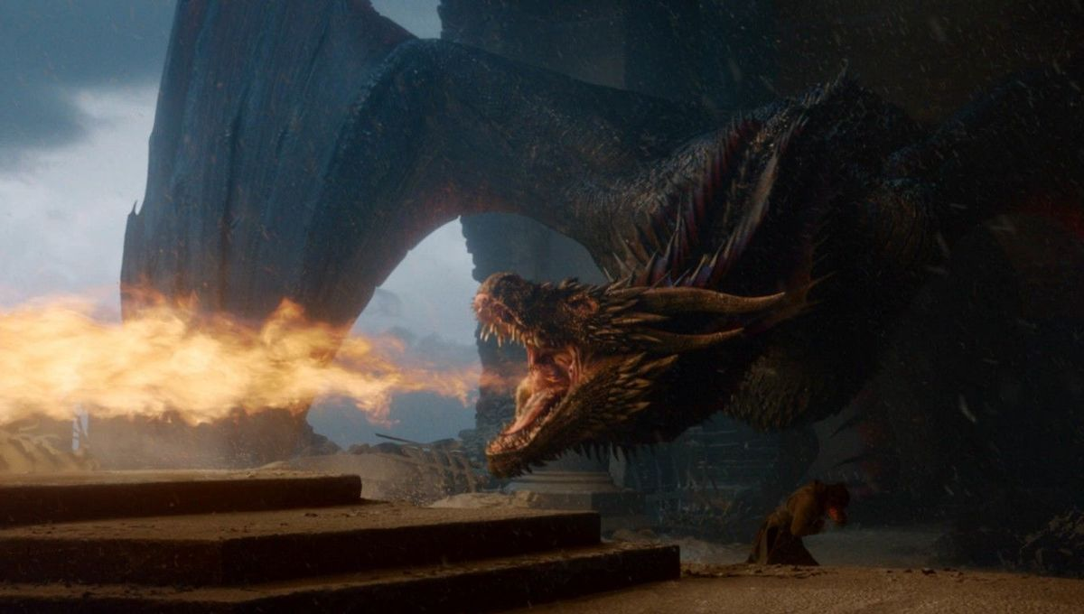 Game of Thrones worked with snoozy, farting bears to bring dragons to life