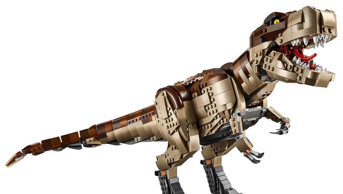 Hold onto your bricks...LEGO introduces the classic Jurassic Park gate and T. rex