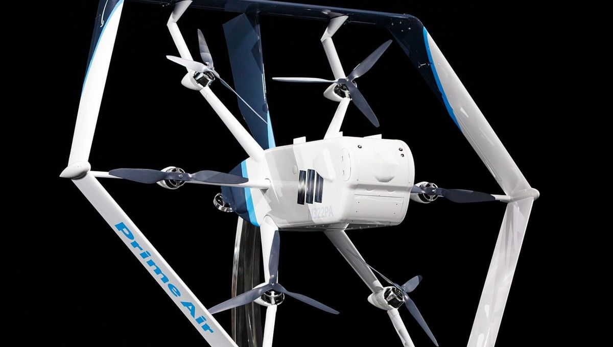 Amazon's transforming delivery drone could be at your door in months