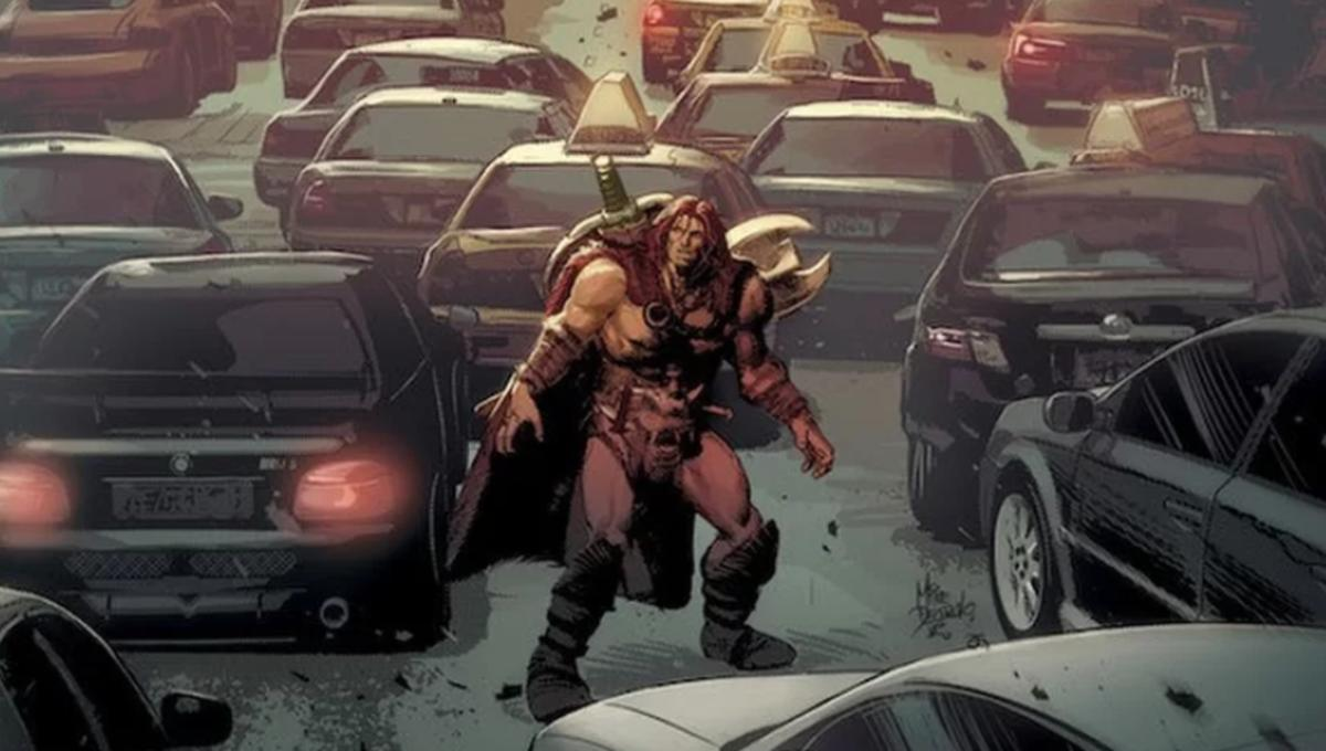 First look: Jeff Lemire and Mike Deodato descend into barbaric times