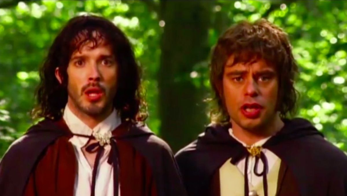 Chosen One of the Day: Flight of the Conchords going full Lord of the