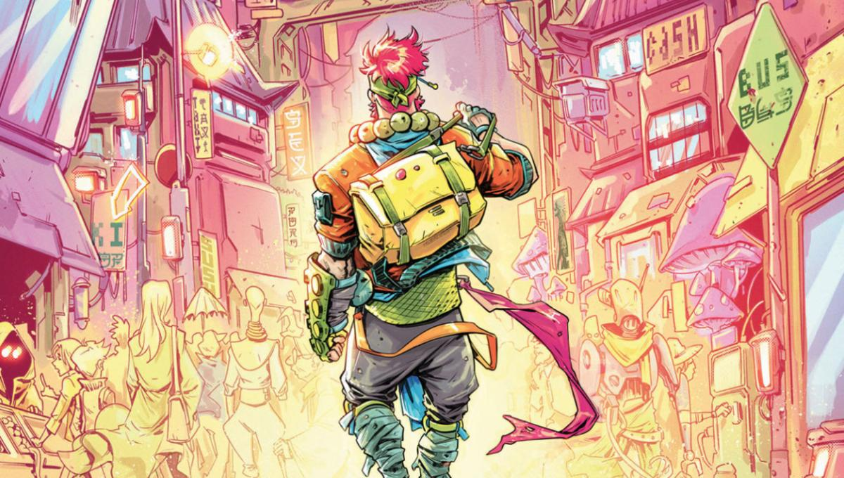 Early look: Dark Horse's vibrant, manga-style comic No One Left To