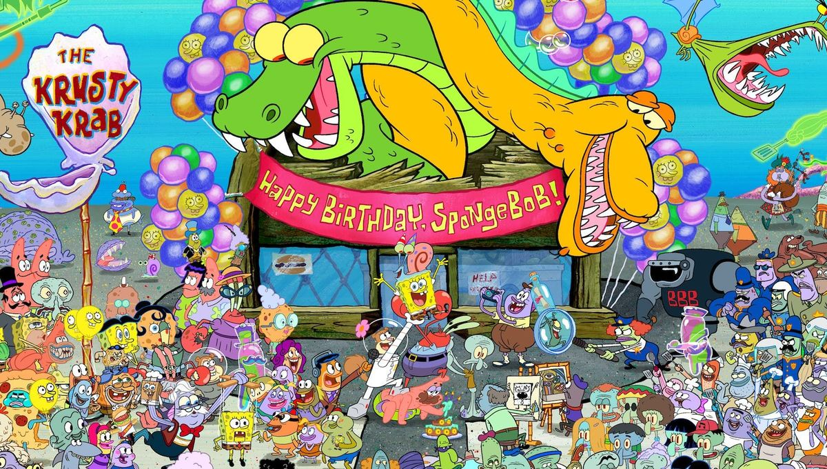 SpongeBob SquarePants: Nickelodeon reveals SDCC 2019 exclusive poster