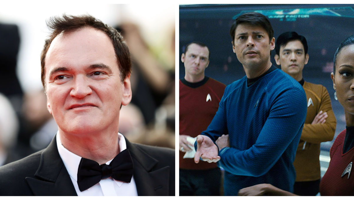 Quentin Tarantino wants to go where no Star Trek movie has gone before: a hard R rating