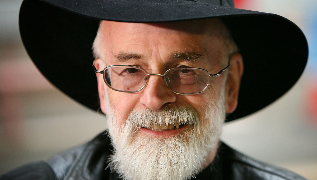 Sir Terry Pratchett demands passionate attention and I am prepared to give it