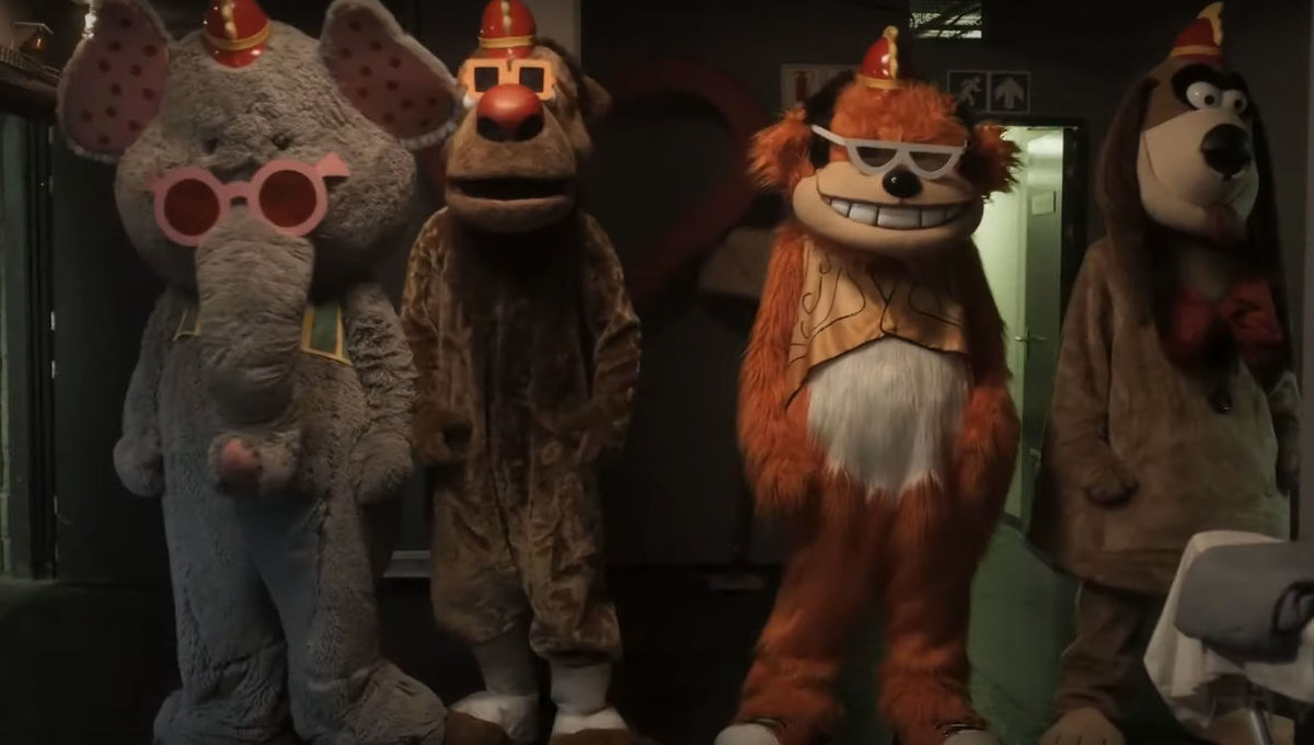 WATCH: The Banana Splits first trailer gives horrific twist to beloved children's show