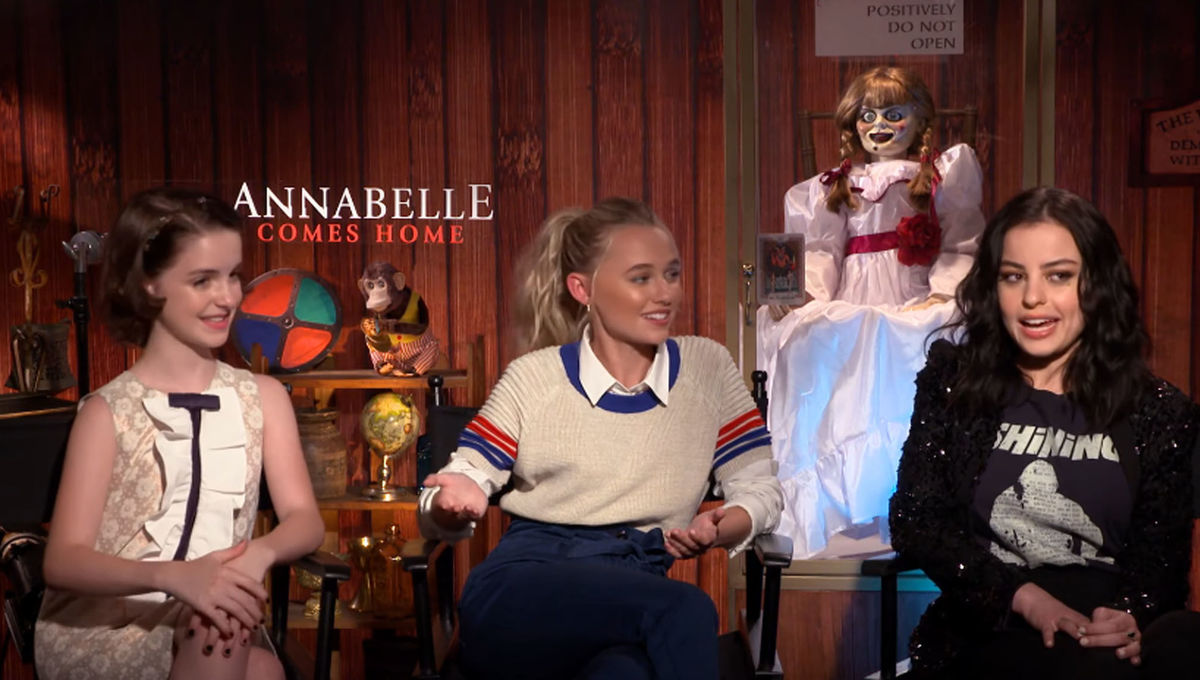 Annabelle Comes Home cast tells us why the set may have been haunted