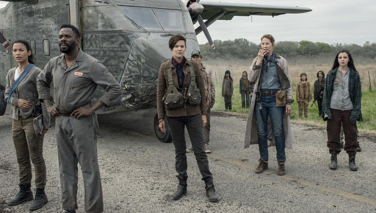 The mid-season finale of Fear the Walking Dead gets airborne