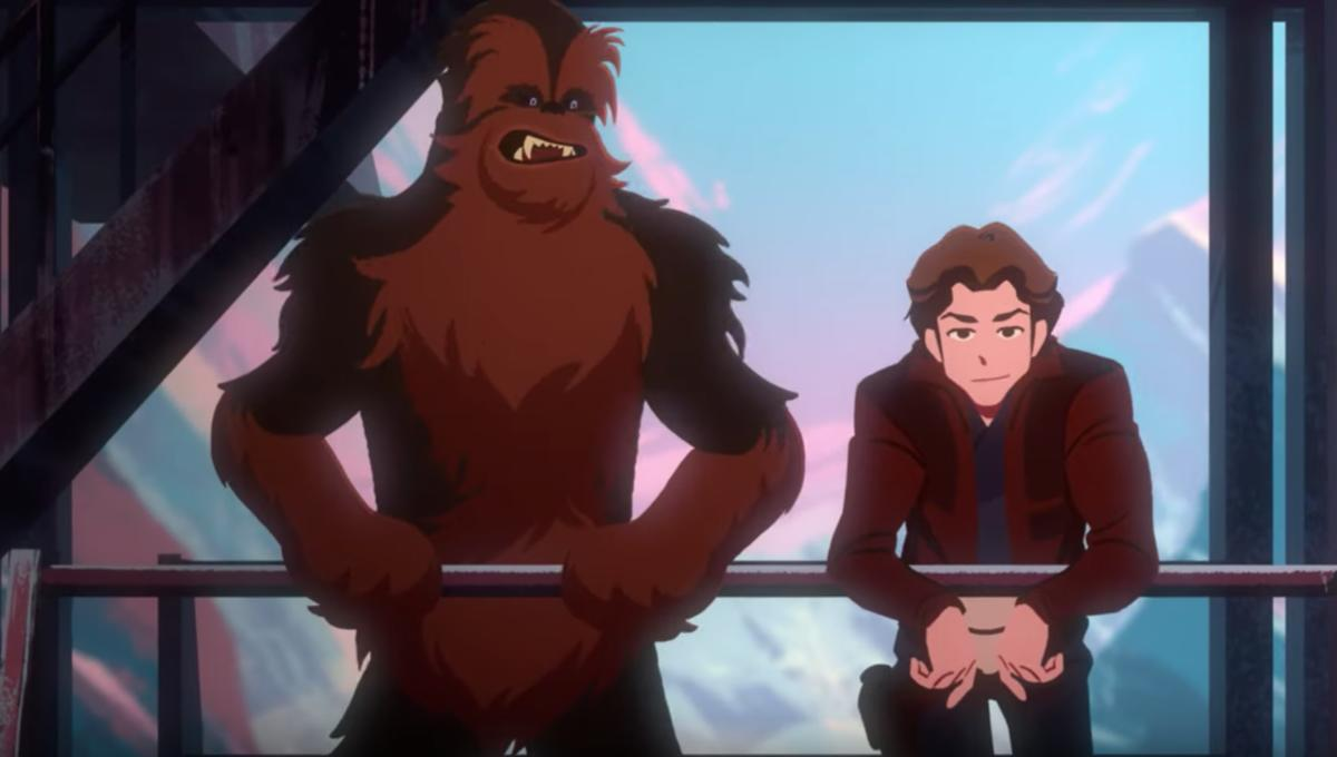 Three new Star Wars Galaxy of Adventures shorts star Han, Chewie,