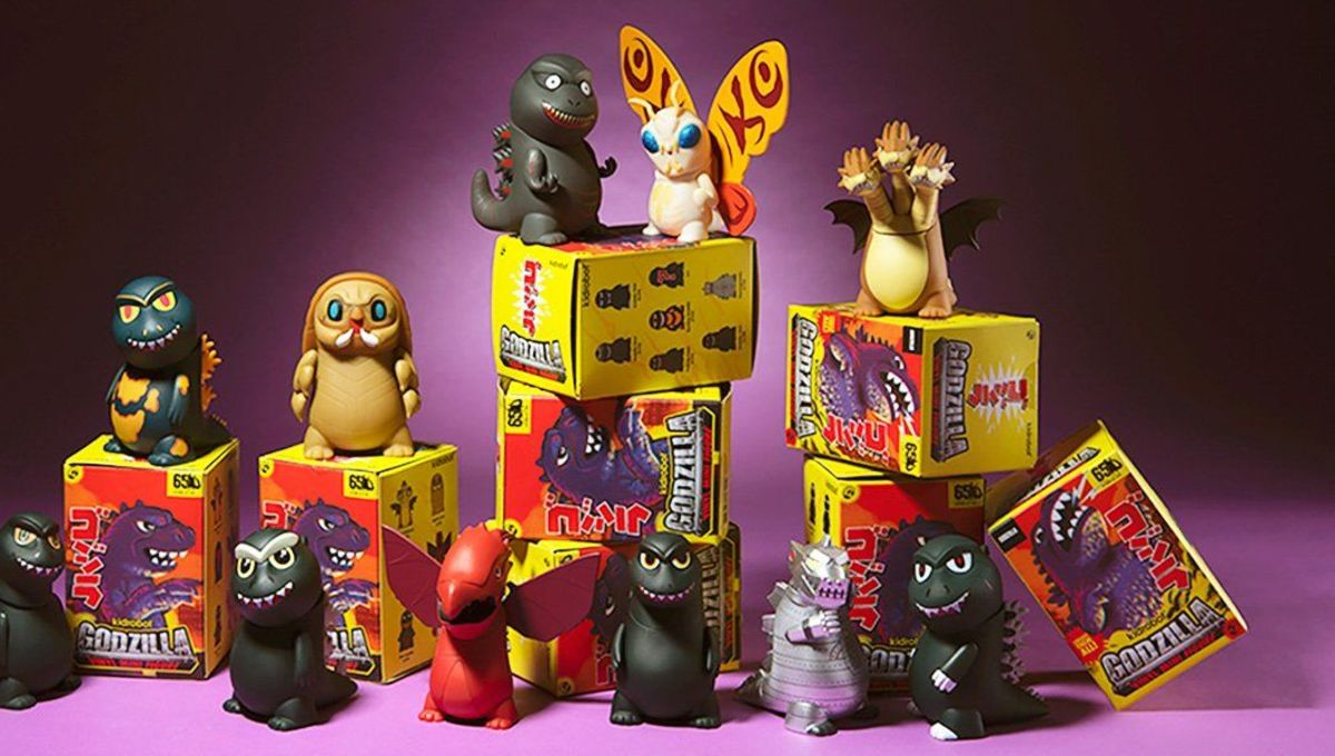 Important Toy News: Godzilla gets cuter than ever and Batman gets