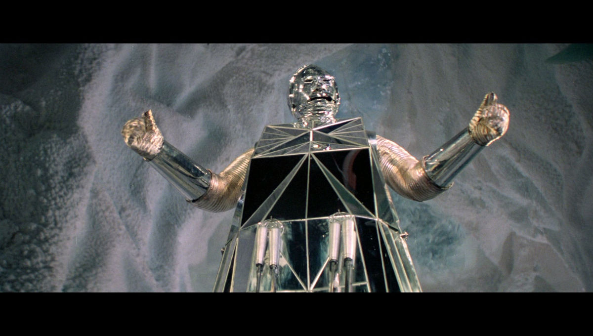 Chosen One of the Day: Box, the sociopathic robot from Logan's Run