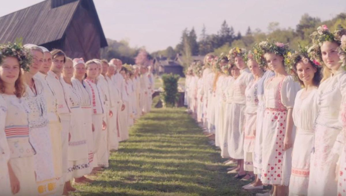 The creepy menace of flower crowns in Midsommar