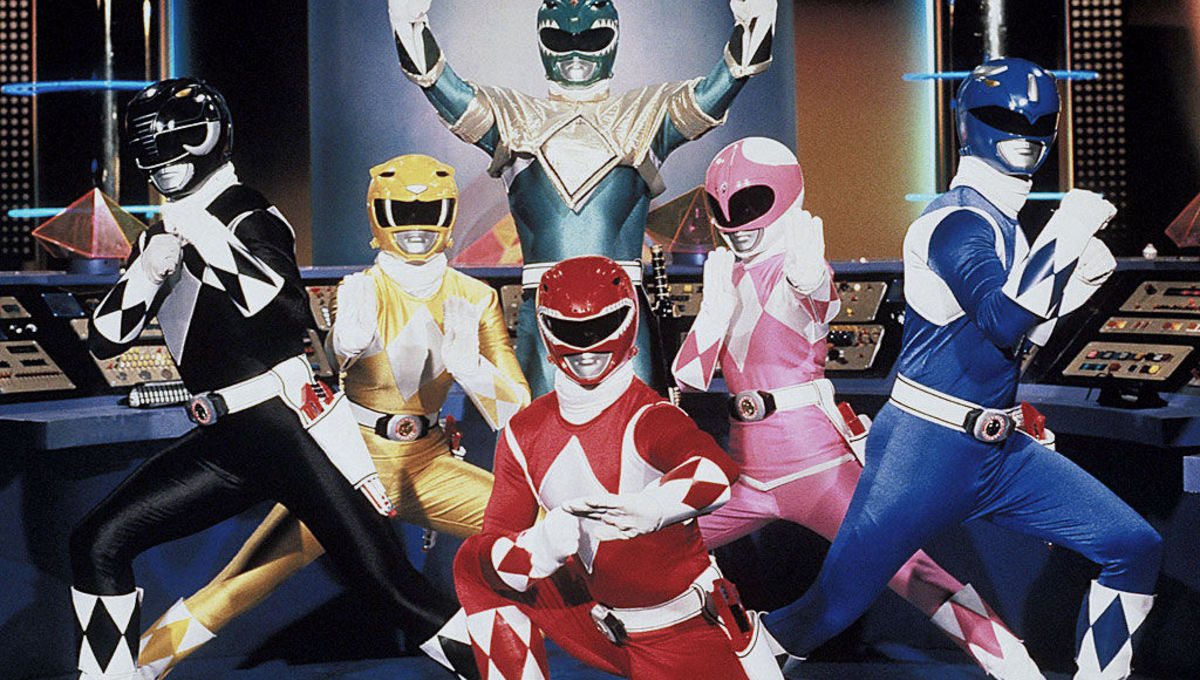 It's morphin' time! A celebration of Mighty Morphin Power Rangers