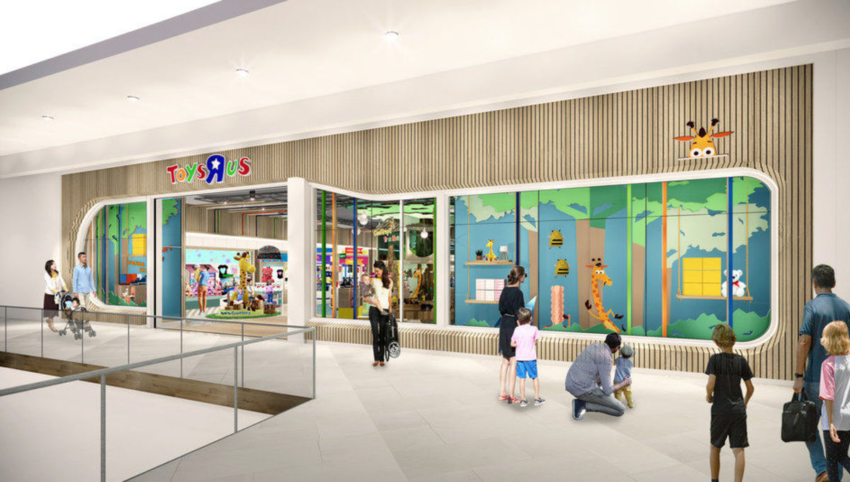 """Toys """"R"""" Us' rebirth continues by opening interactive exhibits this fall"""