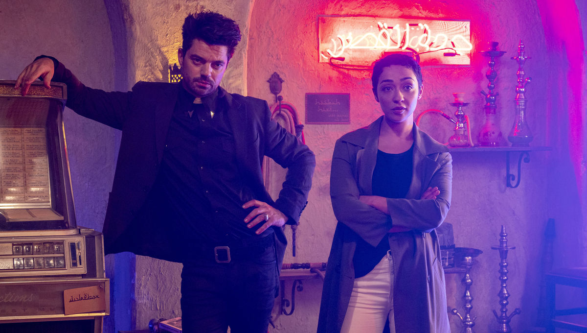 Preacher finds God and makes him an enemy in an outrageous SDCC panel