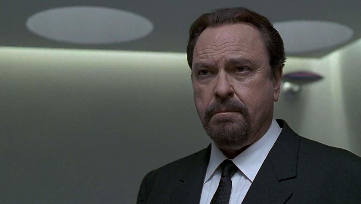 Hard-nosed character actor Rip Torn, known for Men in Black and