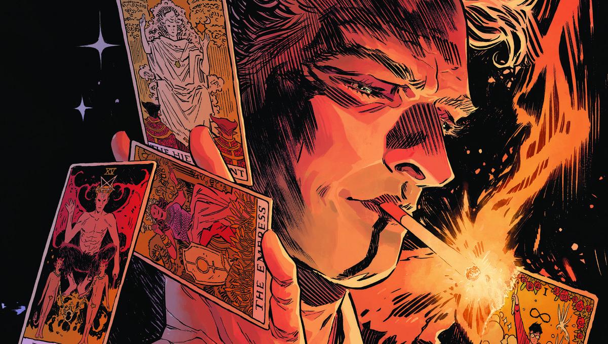 Comics: Hellblazer returns in Sandman Universe; Rooster Teeth