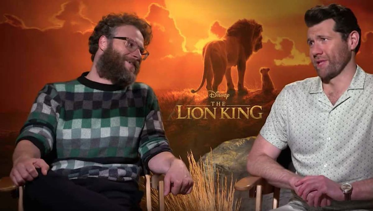 The Lion King cast improvised the whole movie