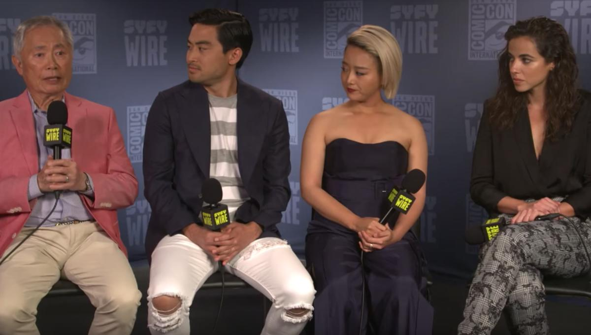 SDCC 2019: George Takei and the cast of The Terror: Infamy tackle two horrors