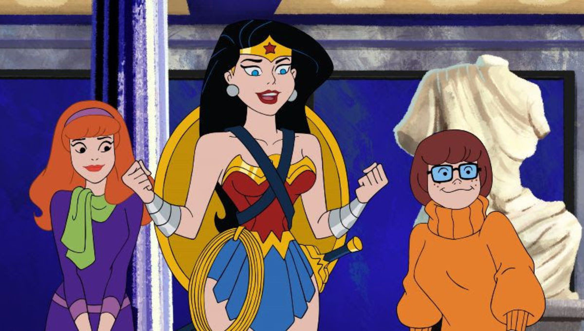 Exclusive: Watch Wonder Woman enter the world of Scooby-Doo for the