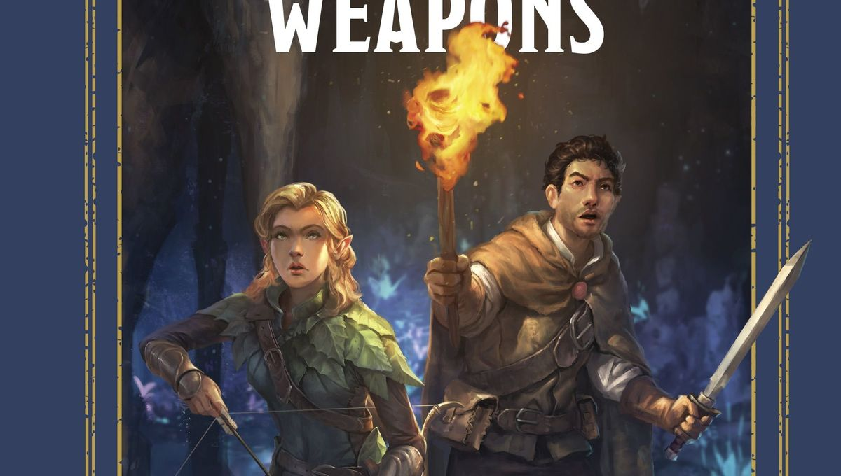 First look: Arm up with the Warriors & Weapons of D&D in new guide