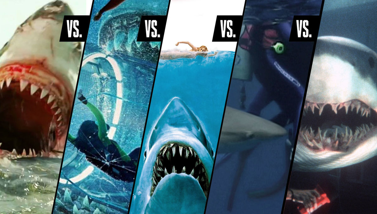 The 5 best shark attack movies ever made