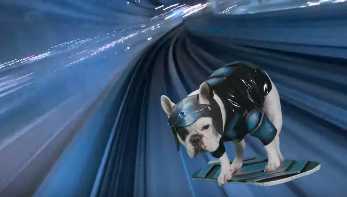 Cospets Episode 3: Pierre the French Bulldog becomes a futuristic