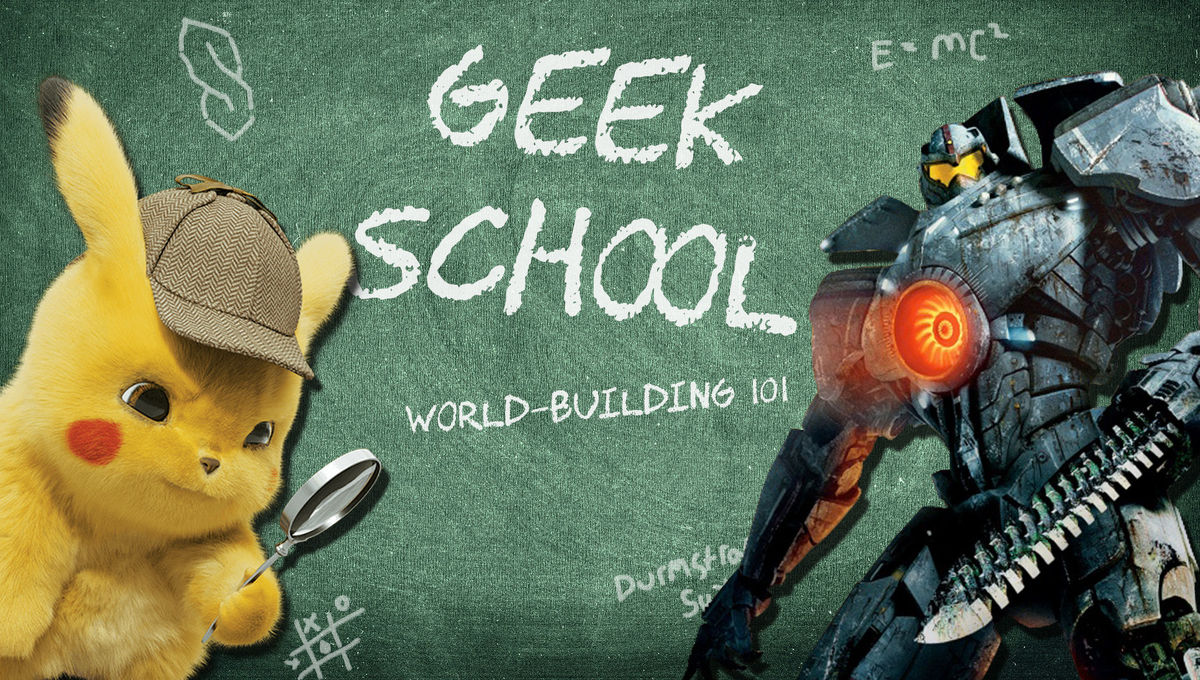 Geek School: The writers of Pacific Rim and Detective Pikachu explain sci-fi world-building