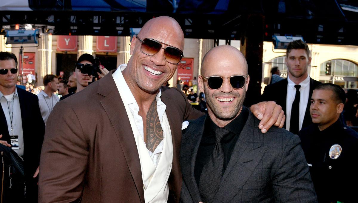 Dwayne Johnson And Jason Statham On Hobbs Shaw Fighting