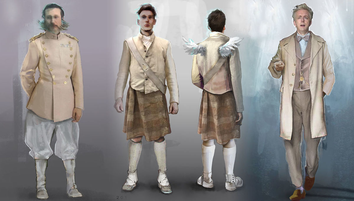 Emmy Contender: How Good Omens designed 6,000 years of costumes for