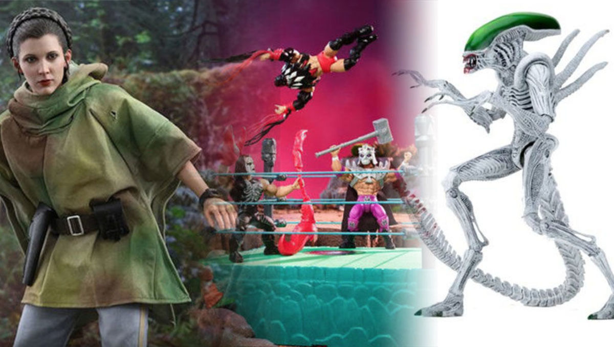 Important Toy News: He-Man hits the wrestling ring and Batman takes