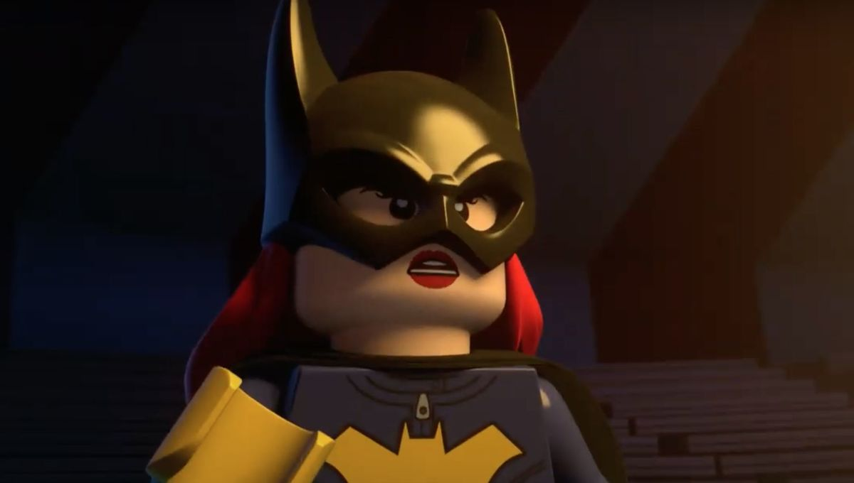 Batgirl battles Scarecrow in exclusive scene from LEGO: DC: Batman -