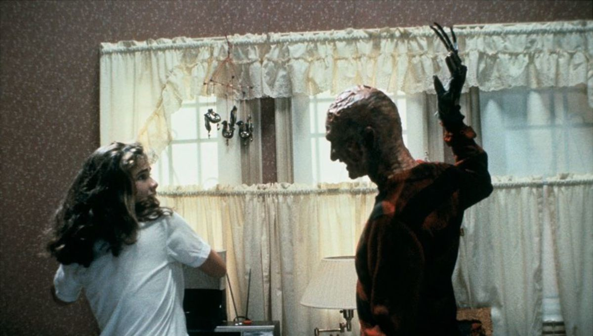 Robert Englund reunites with the women of Elm Street for dreamy