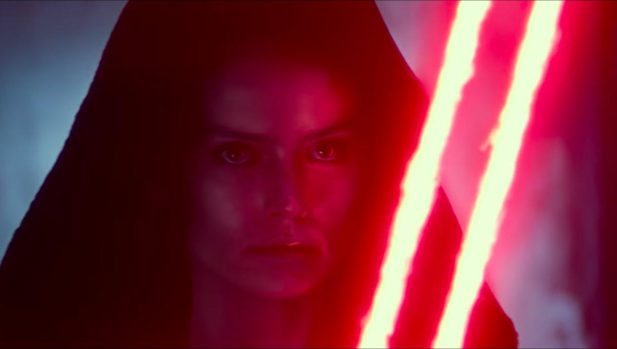 Rey dons Sith robes in D23 sizzle reel for Star Wars: The Rise of Skywalker