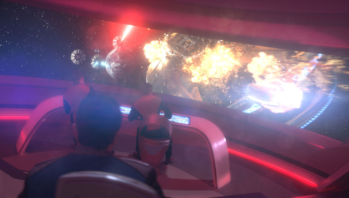 Emmy Contender: How The Orville's VFX team fought a space battle and Seth MacFarlane broke a ship