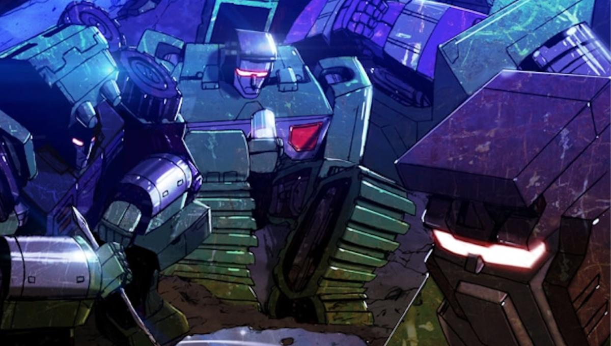 Constructicons rise in IDW's first-ever Transformers spinoff,