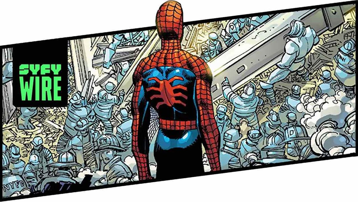 Behind the Panel: How Amazing Spider-Man #36 dealt with the tragedy of 9/11
