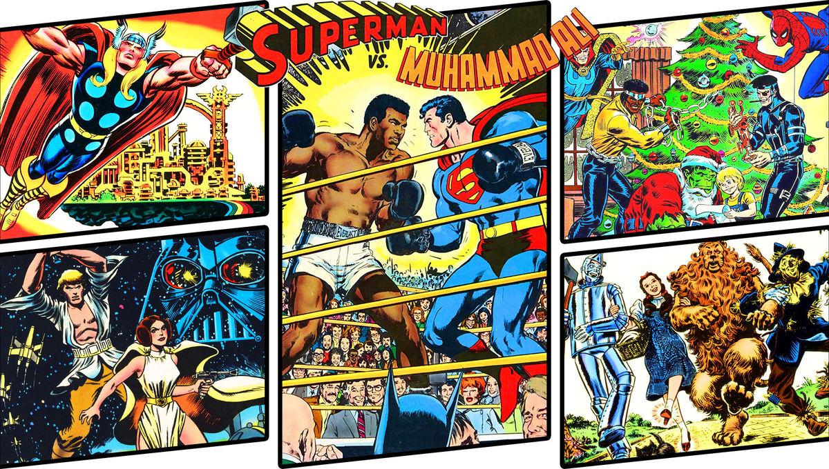 Hey, Comics! Bring back the oversized Treasury editions