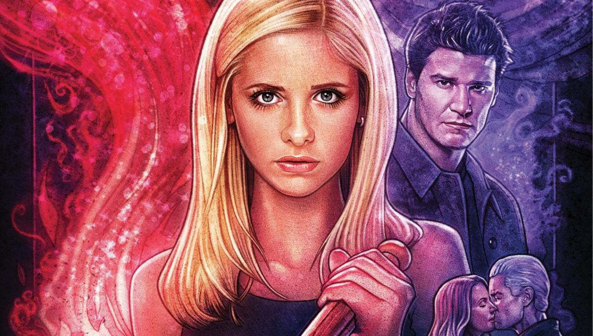 Hell's evil jaws open in Boom!'s new Buffy/Angel crossover miniseries, Hellmouth #1
