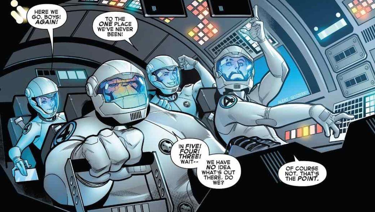 Fantastic Four's Dan Slott teases a universe-altering story