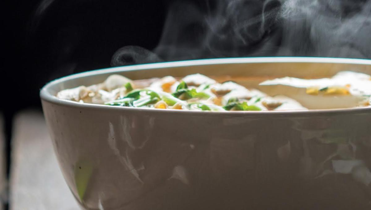 Inhale Wash's Chicken and Dumplings in Titan's new Firefly: The Big Damn Cookbook