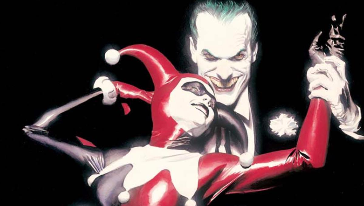 Resultado de imagem para joker harley quinn alex ross