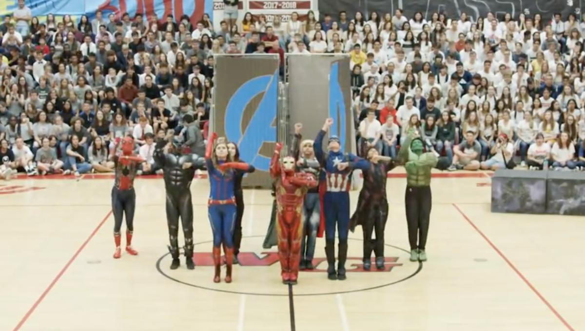 High school dance team slays with epic 7-minute Avengers tribute