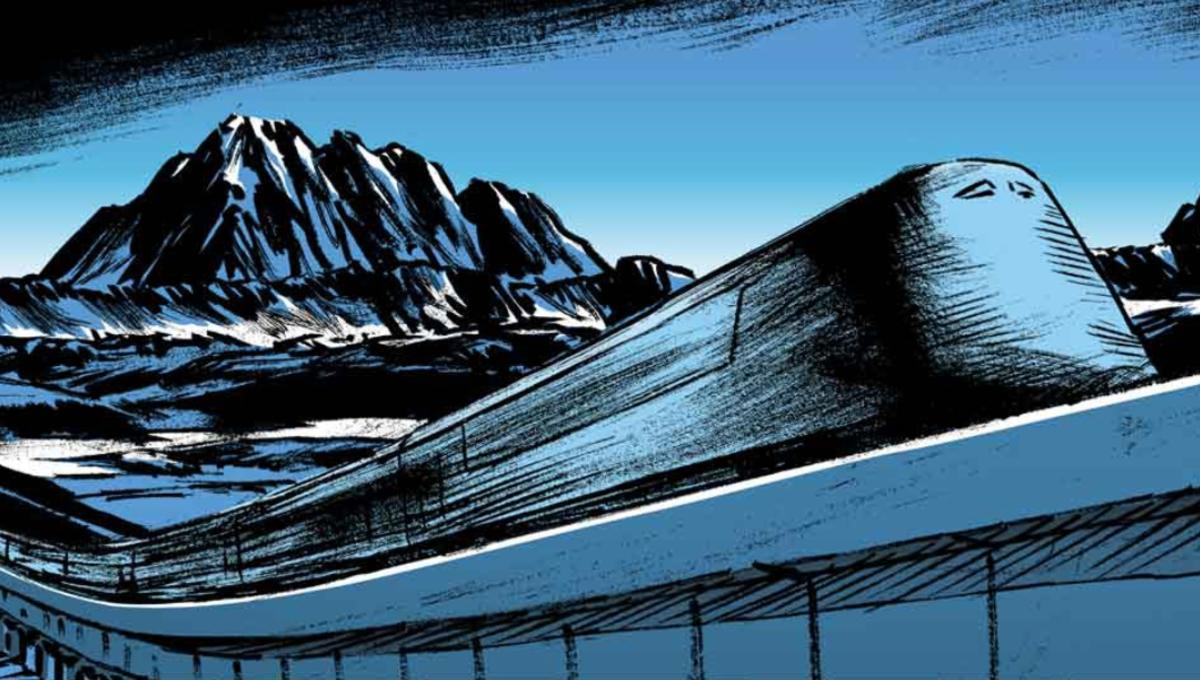 Ride the rails of Titan Comics' new Snowpiercer: Extinction prequel graphic novel
