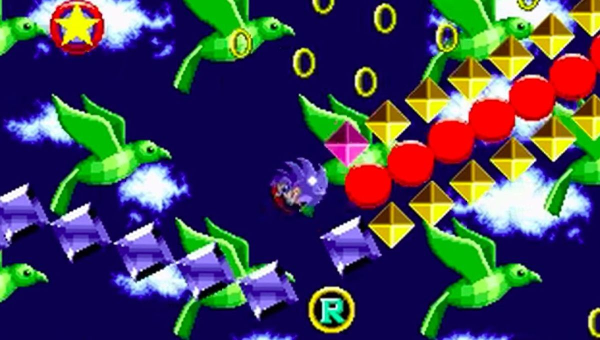 Chosen One of the Day: The special stage in Sonic the Hedgehog